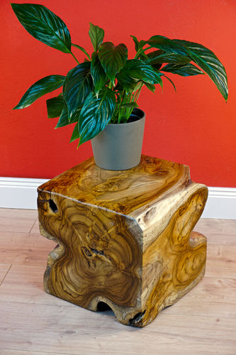 Root Wood Side Table POAN