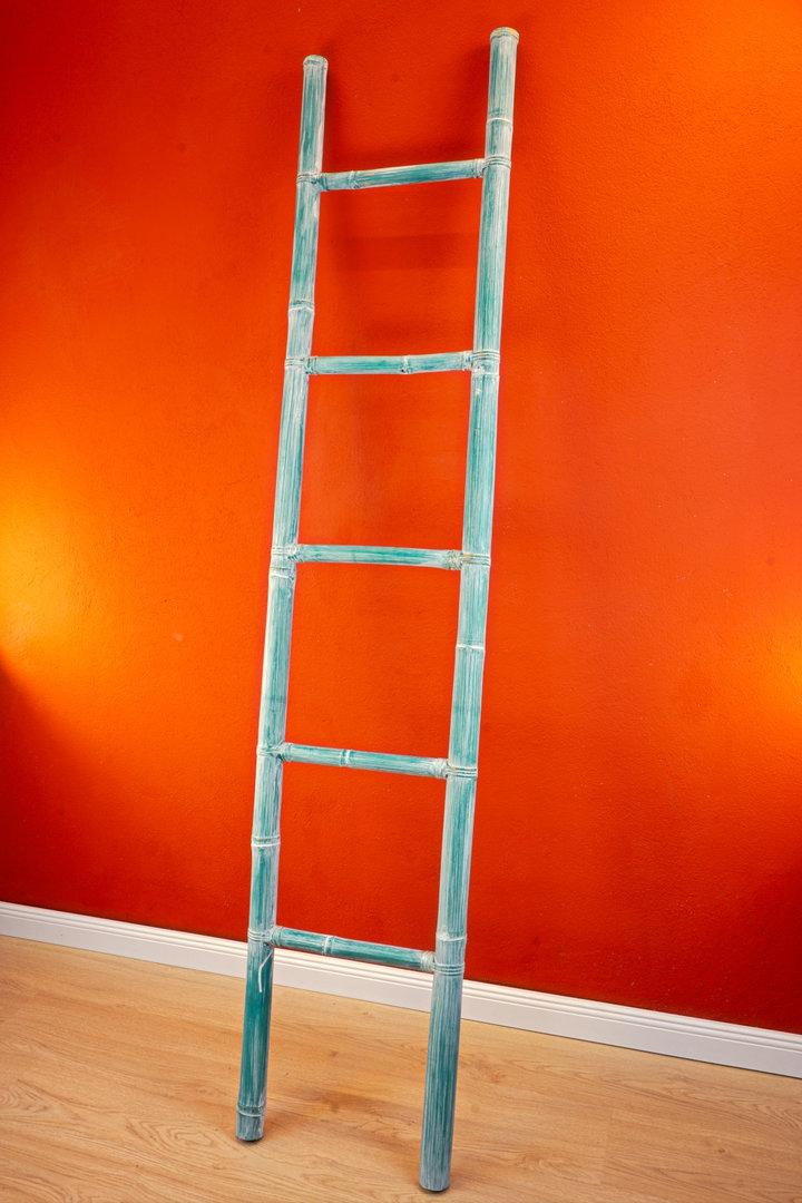 Asian Furniture Bamboo Ladder Towel Rack Kinaree