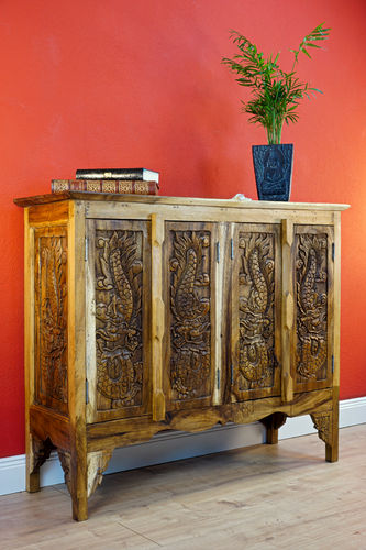 Acacia Solid Wood Cabinet DRAGON II