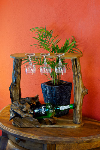 XL Root Wood Wine Holder