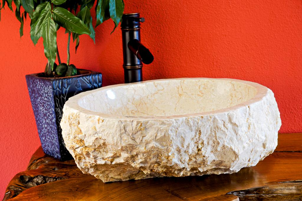 marmor waschbecken aufsatzwaschbecken stein. Black Bedroom Furniture Sets. Home Design Ideas