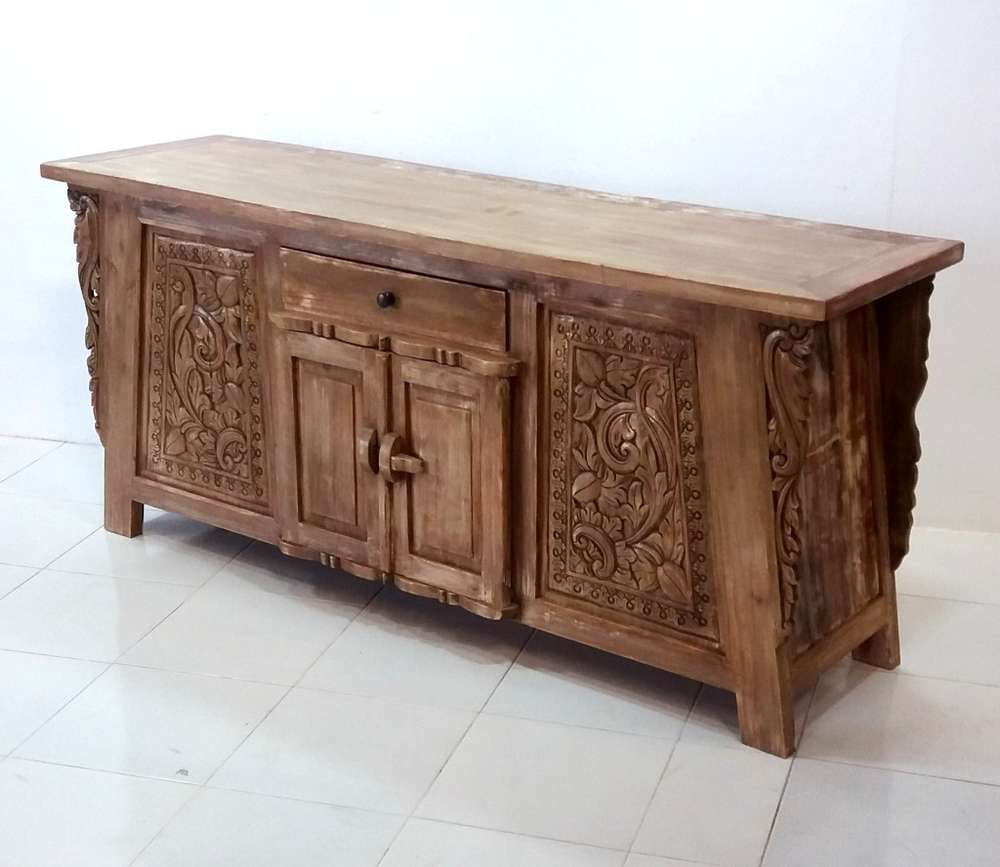 Asiatische Mobel Teak Altholz Sideboard Yangon Kinaree