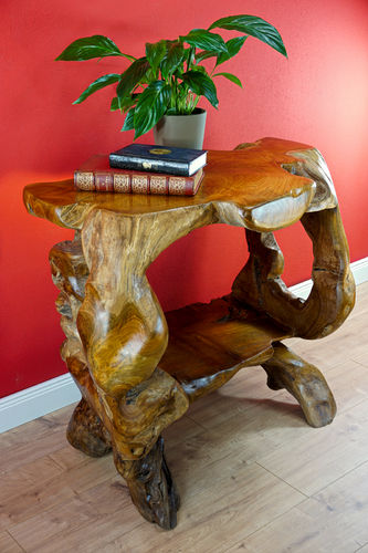 Root Wood Console Table BAN TAT