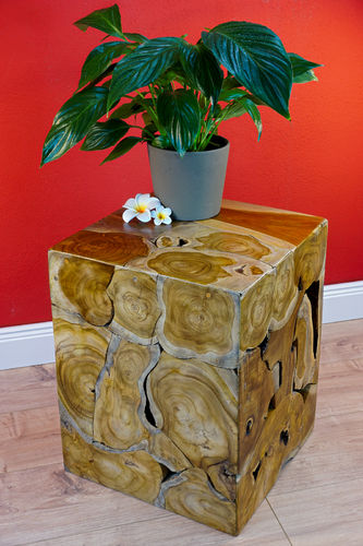 Teak Side Table BAN HAU