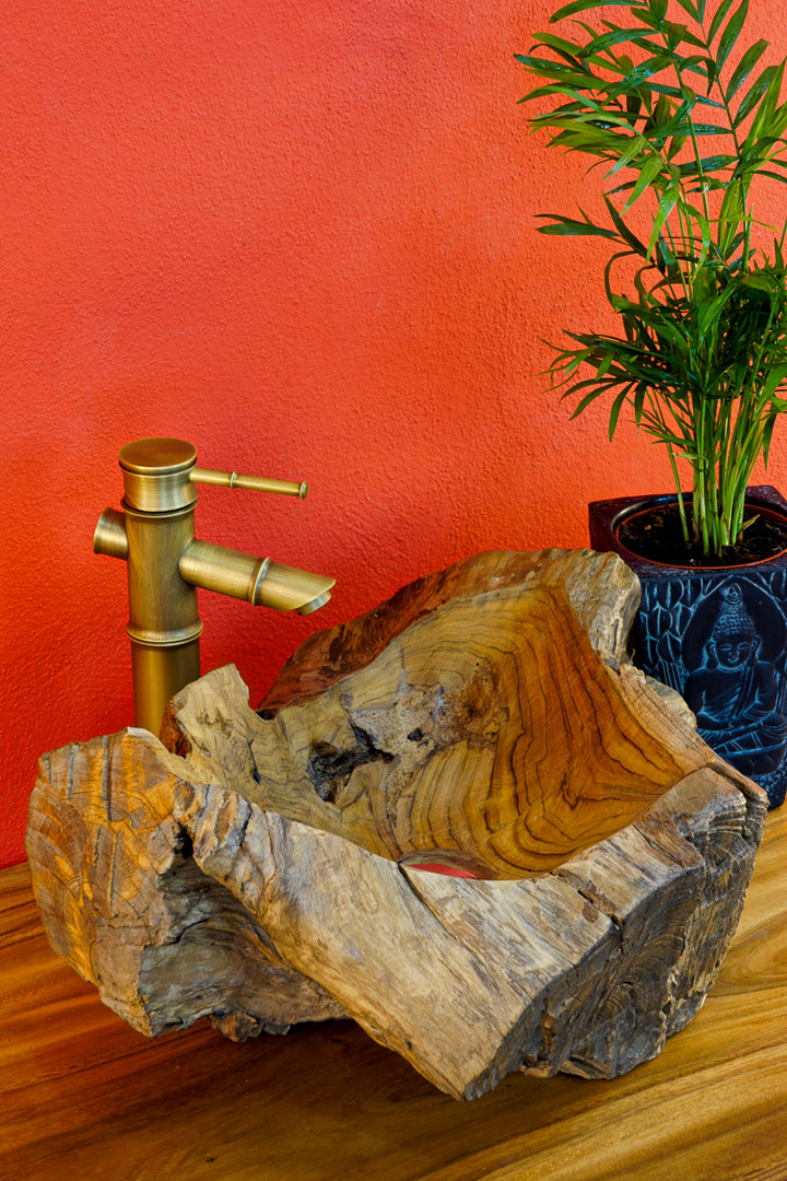 holzwaschbecken aufsatz waschbecken aus holz wurzelholz. Black Bedroom Furniture Sets. Home Design Ideas