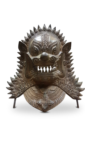 Bronze Mask Guardian Lion