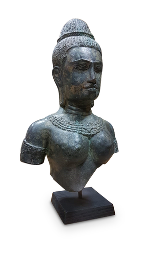 Bronze Statue Queen of Cambodia