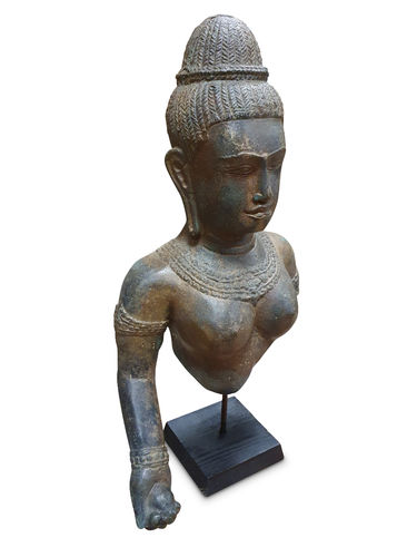 Bronze Statue Khmer Queen