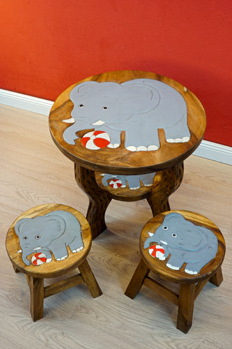 Child Seating Group Elephant