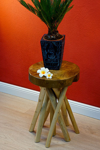 Teak wood side table PHYA