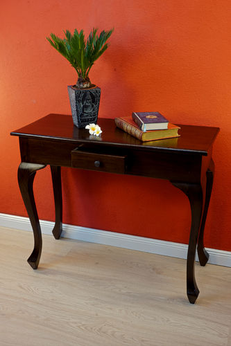 Mahogany console table FREETOWN
