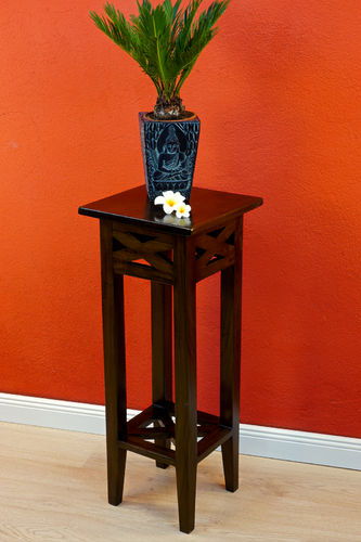 Mahogany flower stand BEDFORD