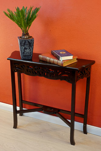 Mahogany console table NANTUCKET