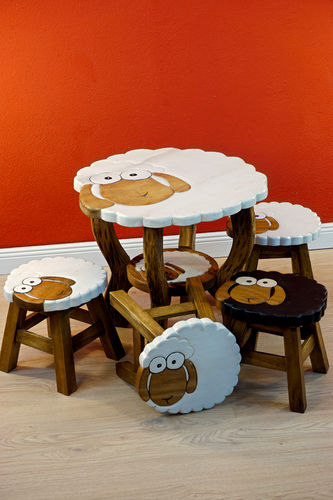 Children Seating Set Sheep