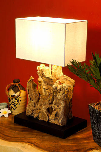Driftwood Table Lamp MAUI