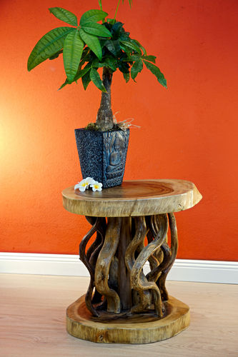Suar Wood Side Table KONA